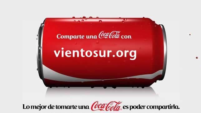 Lata de Cocacola vientosur.org
